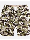 preiswerte Hosen für Jungen-Jungen Shorts camuflaje Frühling Sommer Blau Grün Orange Gelb Armeegrün