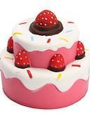 זול טרנינגים וקפוצ'ונים לגברים-LT.Squishies צעצוע מעיכה מזון ומשקאות / חיה / Cake Office צעצועים במשרד / הפגת מתחים וחרדה / צעצועים לחץ לחץ דם יוניסקס מתנות