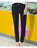 cheap Women's Pants-Women's Cotton Skinny Pants - Solid Colored
