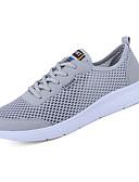 זול סוודרים וקרדיגנים לגברים-בגדי ריקוד גברים רשת סתיו נוחות נעלי אתלטיקה שחור / אפור / כחול / ריצה