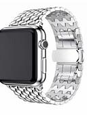 رخيصةأون تيشيرتات وتانك توب رجالي-حزام إلى Apple Watch Series 4/3/2/1 Apple بكلة كلاسيكية ستانلس ستيل شريط المعصم