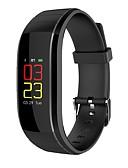 tanie Męskie spodnie i szorty-Inteligentny zegarek UP-X na Android 4.4 / iOS Spalone kalorie / Bluetooth / Wodoszczelny / Czujnik dotyku / Kontrola APP Pulsometr / Krokomierz / Powiadamianie o połączeniu telefonicznym / Budzik
