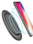 billige Kabler og Lader til mobiltelefon-qi trådløs lader med kabel for iphone x xs maks xr 8 plus rask lading for samsung s8 s9 s10 pluss notat 9 8 usb telefon lader pad