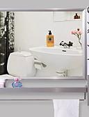 זול קווארץ-גאדג'ט לאמבטיה עכשווי פלדת על חלד יחידה 1 - מראה אביזרי מקלחת