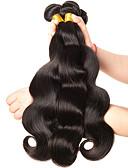 halpa Naisten housut-3 pakettia Brasilialainen Runsaat laineet Virgin-hius Hiukset kutoo 8-28 inch Hiukset kutoo Hiukset Extensions