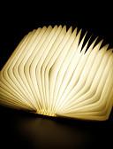 preiswerte Hochzeitskleider-1pc Buch LED-Nachtlicht RGB Eingebaute Li-Batterie angetrieben Faltbar Wiederaufladbar Dekoratives Licht Mit USB-Anschluss Einfach zu