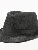 זול כובעים אופנתיים-כובע שמש - אחיד וינטאג' בגדי ריקוד גברים / כותנה / קיץ