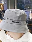 זול כובעים אופנתיים-שחור אודם אפור ירוק צבא כובע שמש כותנה סתיו יום יומי