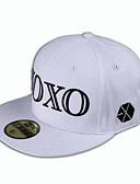 זול כובעים אופנתיים-לבן שחור אודם כובע שמש כותנה כל העונות יום יומי