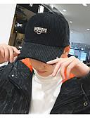 זול כובעים אופנתיים-שחור ורוד מסמיק בז' יין כובע בייסבול כובע שמש צמר כותנה כל העונות חמוד יום יומי