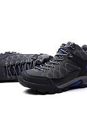 זול קווארץ-בגדי ריקוד גברים PU אביב / סתיו נוחות נעלי אתלטיקה טיפוס שחור / אפור / כחול