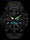 Недорогие Спортивные часы-SMAEL Муж. Спортивные часы Армейские часы электронные часы Японский силиконовый Черный / Красный / Оранжевый 50 m Защита от влаги Календарь Секундомер Аналого-цифровые На каждый день Мода -