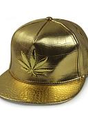 זול כובעים אופנתיים-כובע שמש כובע בייסבול - אחיד פוליאוריתן מסיבה יוניסקס