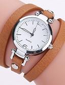 billige Korsetter og bysteholdere-Dame Unike kreative Watch Quartz Svart / Hvit / Blå Imitasjon Diamant Analog damer Fritid Mote - Grønn Blå Rosa