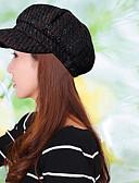 זול כובעים אופנתיים-כובע כומתה (בארט) כובע עם שוליים רחבים כובע שמש כובע קסקט כובע בייסבול - דפוס כותנה פוליאסטר עבודה יוניסקס