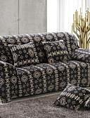זול גברים-ג'קטים ומעילים-עכשווי 100% פוליאסטר ג'אקארד כיסוי ספה דו מושבית, פשוט נוח אחיד דפוס הדפס כיסויים