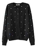 preiswerte Damen Pullover-Damen Langarm Pullover - Solide