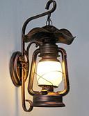 tanie Męskie spodnie i szorty-Vintage Lampy ścienne Ścieżka / Korytarz Metal Światło ścienne 220-240V 20 W / E26 / E27