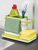 baratos Blusas Femininas-1pç Titulares de panelas Plástico Gadget de Cozinha Criativa Alta qualidade Organização de cozinha
