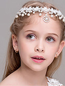 cheap Mother of the Bride Dresses-Girls' Hair Accessories, All Seasons Headbands - White