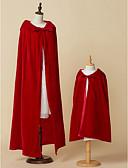 hesapli Gelin Şalları-Kolsuz Suni Kürk Düğün / Parti / Gece Çocuk Şalları / Kadın Eşarpları İle Kapak / Bağcıklı Pelerinler