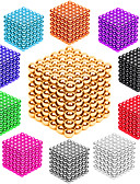 cheap Sweater Dresses-216 pcs 3mm Magnet Toy Magnetic Balls Building Blocks Super Strong Rare-Earth Magnets Neodymium Magnet Stress and Anxiety Relief Office Desk Toys DIY Adults' / Children's Unisex Boys' Girls' Toy Gift