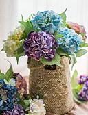 זול טישרטים לגופיות לגברים-פרחים מלאכותיים 1 ענף כפרי / פרחי חתונה הורטנזיות פרחים לשולחן