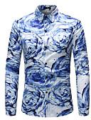 זול חולצות לגברים-קשת בוהו חולצה - בגדי ריקוד גברים
