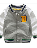 cheap Boys' Jackets & Coats-Toddler Boys' Active Patchwork Long Sleeve Cotton Down & Cotton Padded