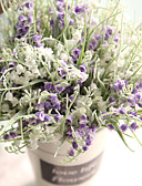 זול טישרטים לגופיות לגברים-פרחים מלאכותיים 1 ענף כפרי / וינטאג' פרחים נצחיים פרחים לשולחן