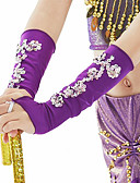 preiswerte Korsetts & Bustiers-Bauchtanz Ordinär Tanz-Handschuhe Damen Training Leistung Polyester Pailetten Modern Freizeit Ärmel