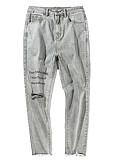 זול מכנסיים ושורטים לגברים-בגדי ריקוד גברים סגנון רחוב ג'ינסים מכנסיים אותיות