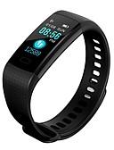 billige Herreskjorter-Smartklokke B18 til Android iOS Bluetooth Kalorier brent Bluetooth Berør sensoren Pedometere APP-kontroll Pulse Tracker Pedometer Samtalepåminnelse Aktivitetsmonitor / Søvnmonitor / Vekkerklokke