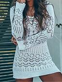 זול 2017ביקיני ובגדי ים-לבן אחיד כיסוי בגדי ריקוד נשים