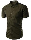 זול חולצות לגברים-אחיד סגנון רחוב חולצה-בגדי ריקוד גברים