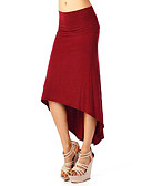 cheap Prom Dresses-Women's Going out Sophisticated Bodycon Skirts - Solid Colored Pleated / Print / Sexy / Slim