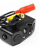 tanie Koszulki i tank topy męskie-ZIQIAO 480TVL CCD Przewodowa 170 stopni Tylna kamera Wodoodporny / Alarm brzęczyka na Samochód