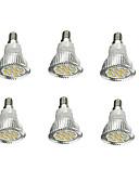 tanie Kwarcowy-6 szt. 5 W 380-420 lm E14 Żarówki punktowe LED 16 Koraliki LED SMD 5630 Dekoracyjna Ciepła biel 85-265 V