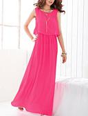 cheap Women's Dresses-Women's Street chic Swing Dress - Solid Colored