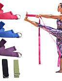 baratos Vestidos de Noite-Cinta de ioga Com Algodão Grossa, Durável, Cinto D-Ring Ajustável Fisioterapia, Alongamento, Prepaparador Físico, Aumente a Flexibilidade Para Pilates / Exercício e Atividade Física / Ginásio