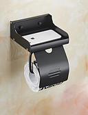 ieftine Accesorii toaletă-Suport Hârtie Toaletă Multifuncțional Contemporan Aluminiu 1 buc - Baie N / A Montaj Perete