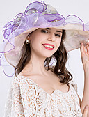 preiswerte Parykopfbedeckungen-Seide Kopfbedeckung mit Blumig / Rüschen / Gerafft 1pc Hochzeit / Besondere Anlässe Kopfschmuck