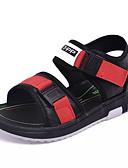 abordables Biquinis y Bañadores para Mujer-Chico Zapatos Cuero Verano Confort Sandalias Cinta Adhesiva para Bebé Negro / Rojo / Negro / verde