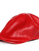 olcso Női kalapok-Uniszex Egyszínű Poliuretán, Alap - Svájcisapka