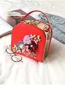 cheap Fashion Scarves-Women's Bags Terylene Clutch Zipper Red / Blushing Pink / Gray