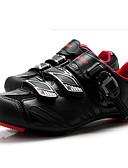 cheap Cycling Jersey & Shorts / Pants Sets-Tiebao® Road Bike Shoes Carbon Fiber Anti-Slip Cycling Black / Red Men's Cycling Shoes / Hook and Loop