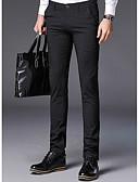 tanie Męskie spodnie i szorty-Męskie Podstawowy Garnitury Spodnie Geometric Shape