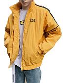 povoljno Muške jakne i kaputi-Jakna Muškarci-Osnovni Geometrijski oblici