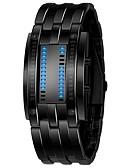 Недорогие Монокини-Муж. электронные часы Нержавеющая сталь Черный / Серебристый металл 30 m Секундомер Цифровой На каждый день - Черный Серебряный Один год Срок службы батареи / SSUO LR626
