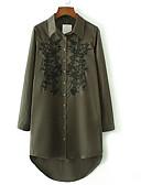 povoljno Ženske haljine-Žene Ulični šik Majica Haljina Jednobojni Geometrijski oblici Asimetričan